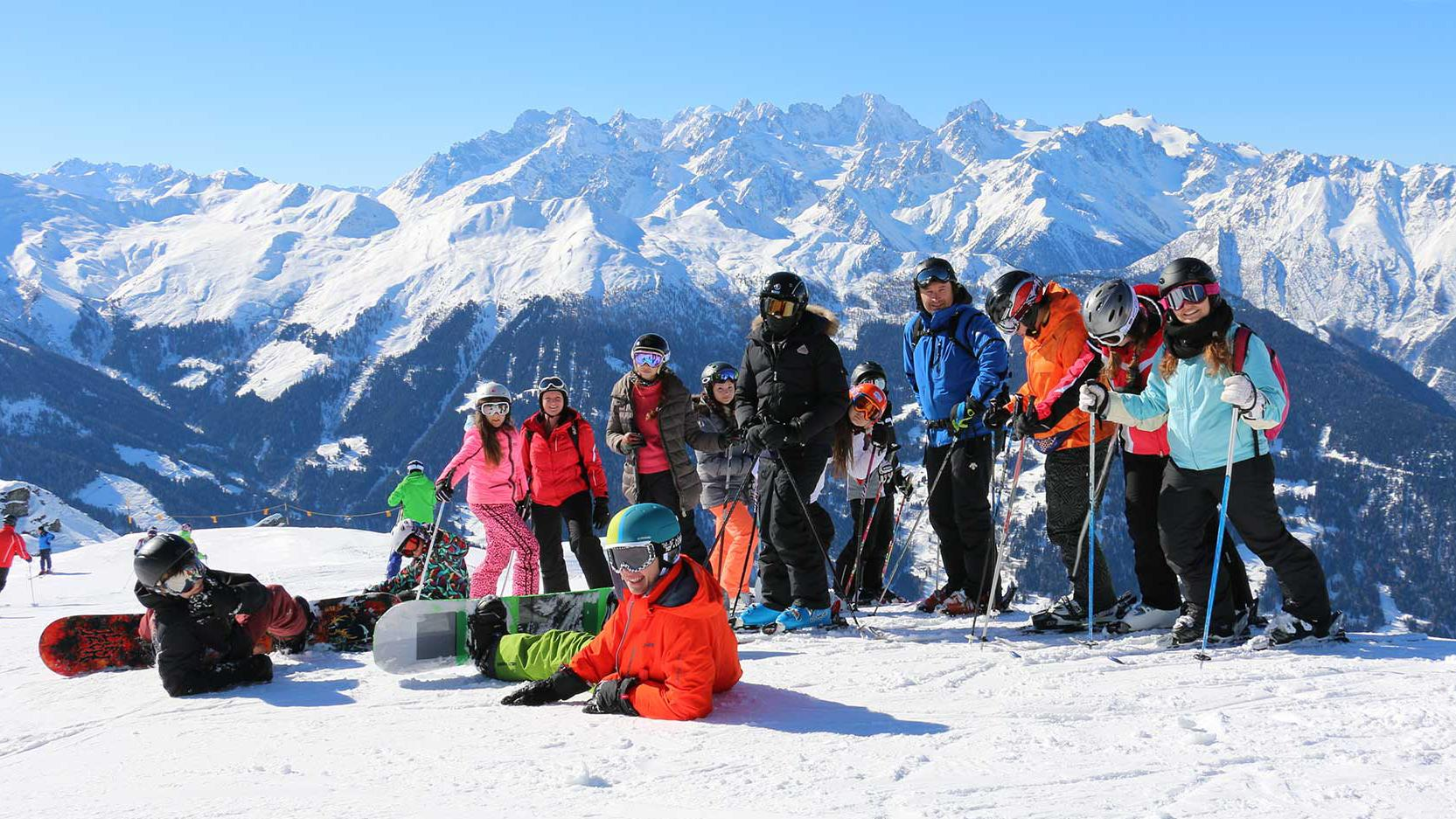 Institut Monte Rosa Winter School