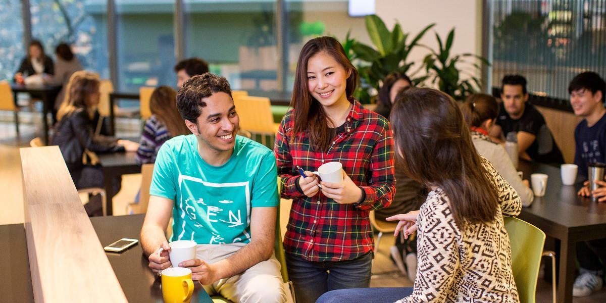Курсы английского в EC Australia
