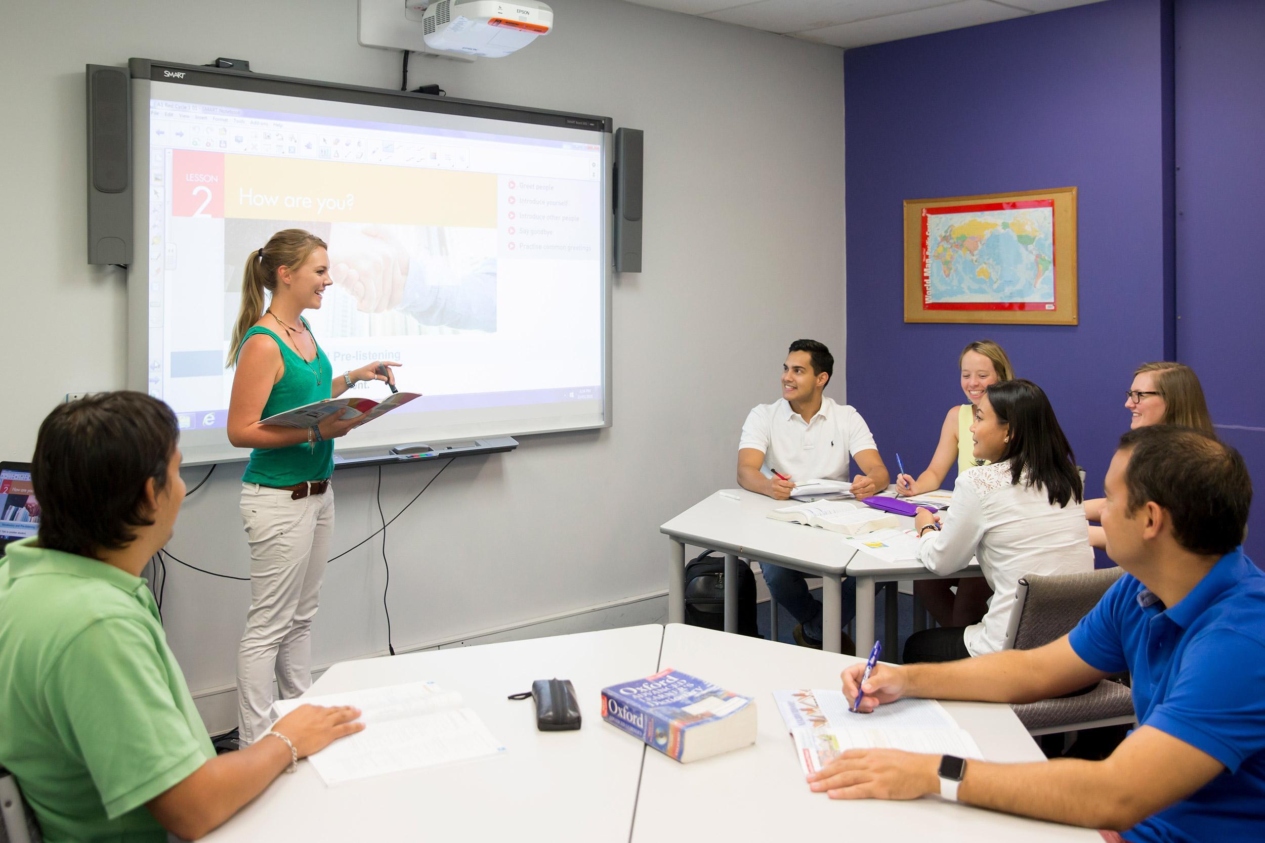 Курсы английского в Kaplan Perth