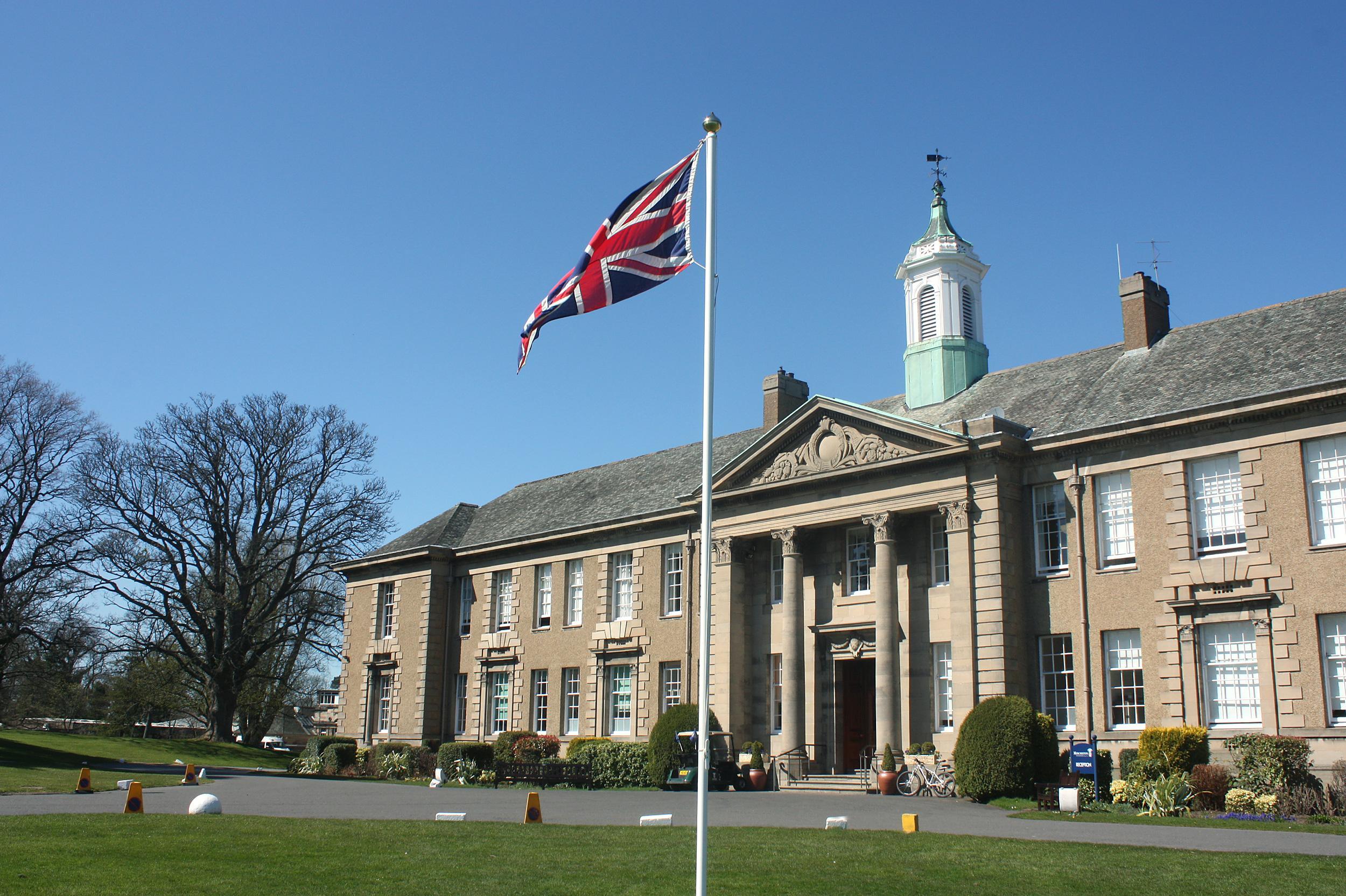 Merchiston Castle school for boys