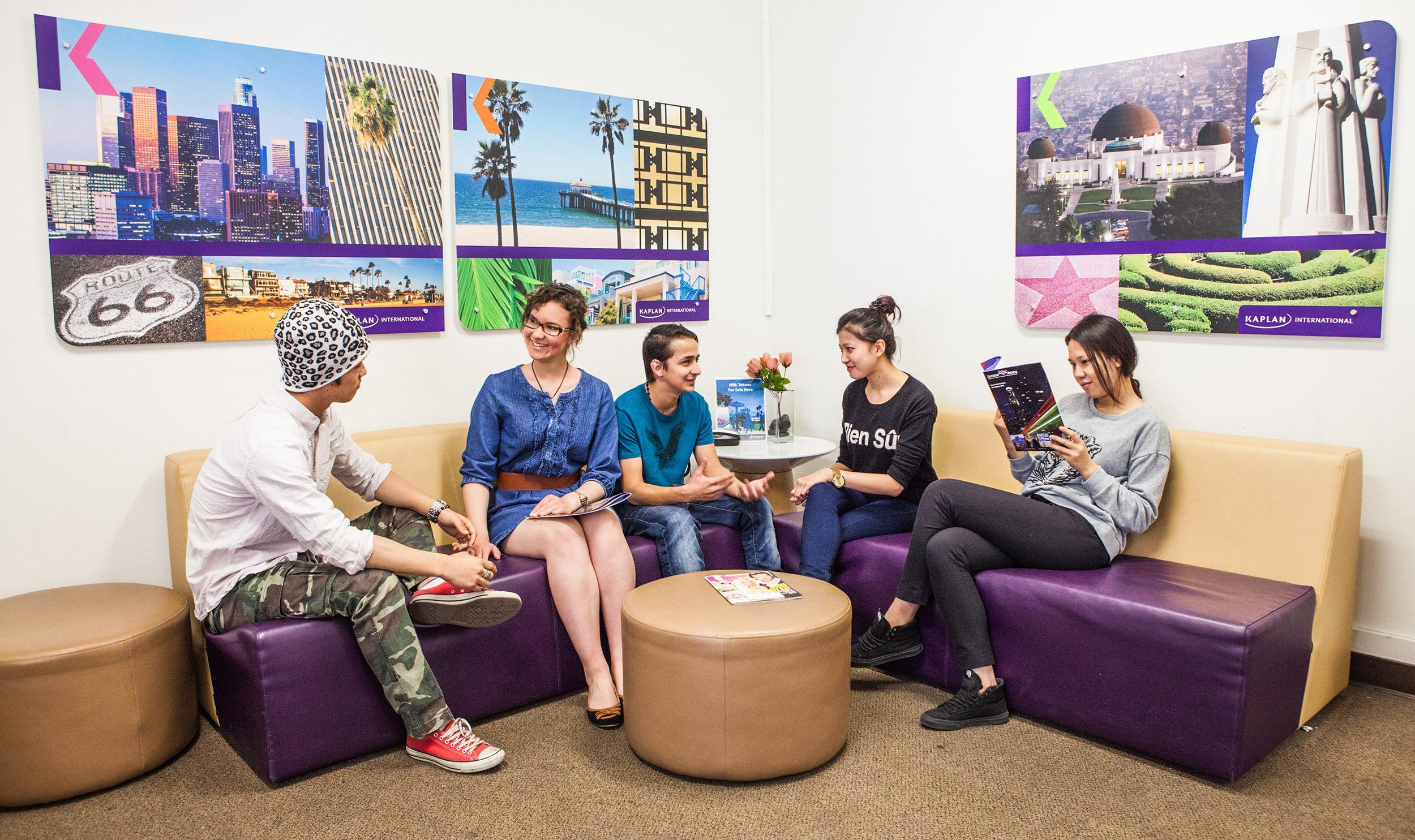 Курсы английского в Kaplan Los Angeles Whittier