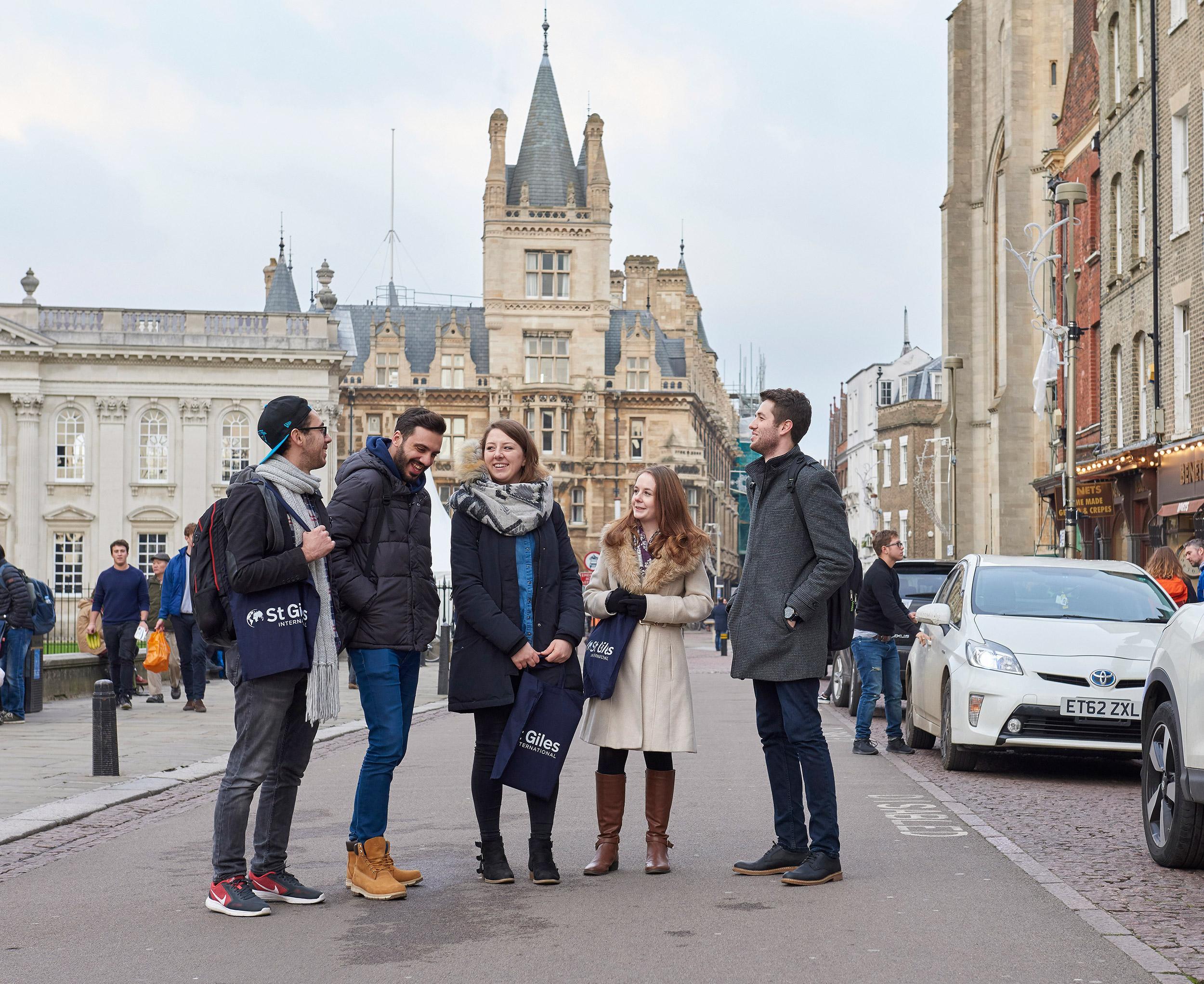 Курсы английского в St Giles Cambridge